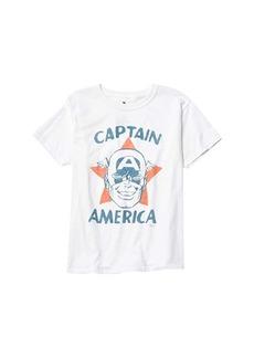 Junk Food Captain America T-Shirt (Big Kids)
