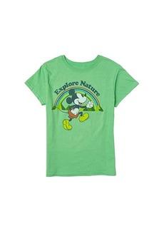 Junk Food Disney Mickey Explore Nature T-Shirt (Little Kids/Big Kids)