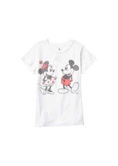 Junk Food Disney Minnie & Mickey T-Shirt (Little Kids/Big Kids)