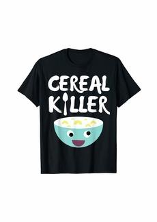 Junk Food Funny Cereal Killer T-Shirt