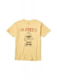Junk Food I'm Free Peanuts T-Shirt (Big Kids)