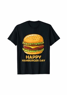 Junk Food Cheeseburger Hamburger Day Burger Fries Festival T-Shirt