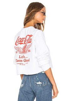 Junk Food Coca Cola Life Tastes Good Sweatshirt