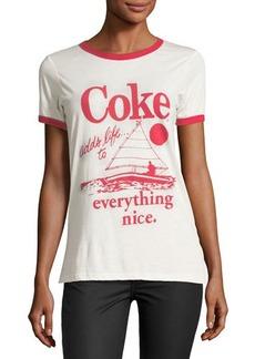 Junk Food Coke Adds Life Graphic Tee