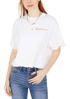 Junk Food Cotton Cropped Graphic T-Shirt