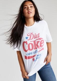 Junk Food Cotton Diet Coke-Graphic T-Shirt