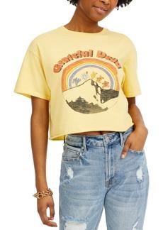 Junk Food Cotton Grateful Dead Graphic Cropped T-Shirt