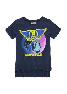 Junk Food Girls' Aerosmith World Tour Tee - Big Kid