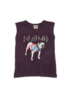 Junk Food Girls' Def Leppard Tee - Big Kid