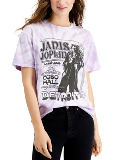 Junk Food Janis Joplin Tie-Dye Graphic T-Shirt