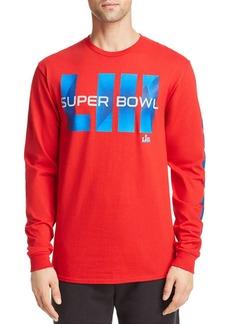 Junk Food Long-Sleeve Super Bowl Graphic Tee