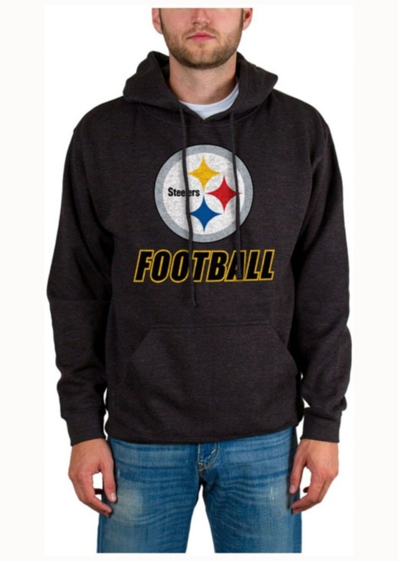 Junk Food Men's Pittsburgh Steelers Wing-t Formation Hoodie