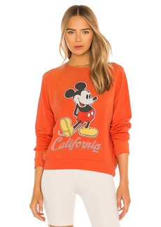 Junk Food Mickey California Crew Sweatshirt