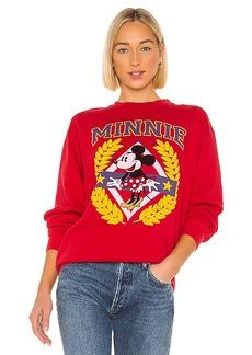 Junk Food Minnie Crest Flea Market Pullover