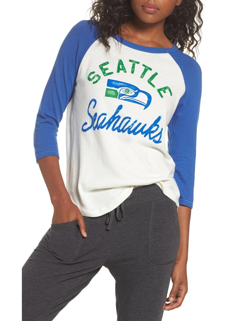 75d952153 Junk Food Junk Food NFL Seattle Seahawks Raglan Tee