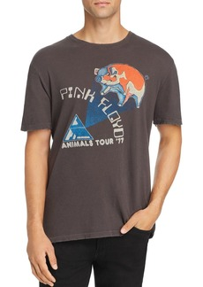 Junk Food Pink Floyd Animal Tour Graphic Tee