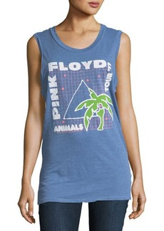 Junk Food Pink Floyd Animals Tour Graphic Muscle Tank