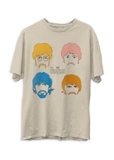 Junk Food The Beatles Faces Tee
