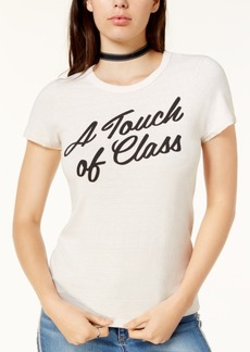 Junk Food Touch Of Class Cotton Graphic T-Shirt