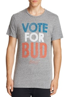 Junk Food Vote for Bud Graphic Tee
