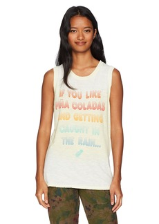 Junk Food Women's Pina Colada Graphic Muscle Tee