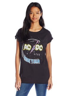 Junk Food Women's Short Sleeve Ac/Dc Graphic Tee