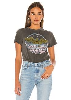 Junk Food Wonder Woman Logo Tee