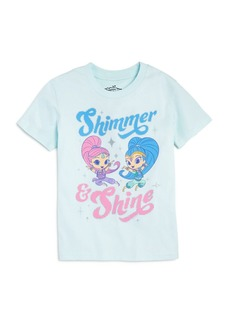 Junk Food x Nickelodeon Girls' Shimmer and Shine � Tee, Little Kid - 100% Exclusive