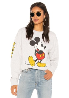 Junk Food Mickey Mouse Classic Oversized Sweatshirt