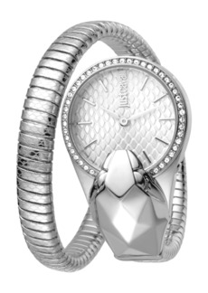 Just Cavalli 26mm Glam Chic Coiled Snake Watch
