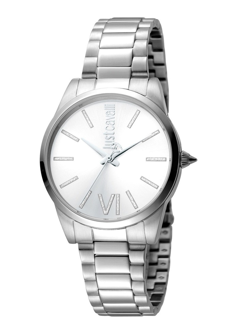 Just Cavalli 32mm Relaxed Watch w/ Bracelet Strap