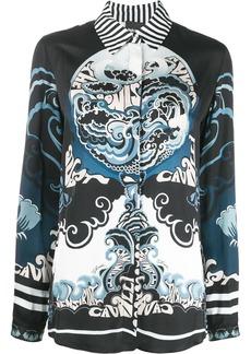 Just Cavalli abstract-print shirt