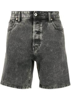 Just Cavalli acid wash denim shorts