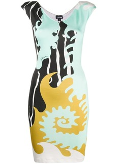 Just Cavalli all-over print dress