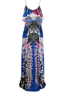 Just Cavalli all-over print dress