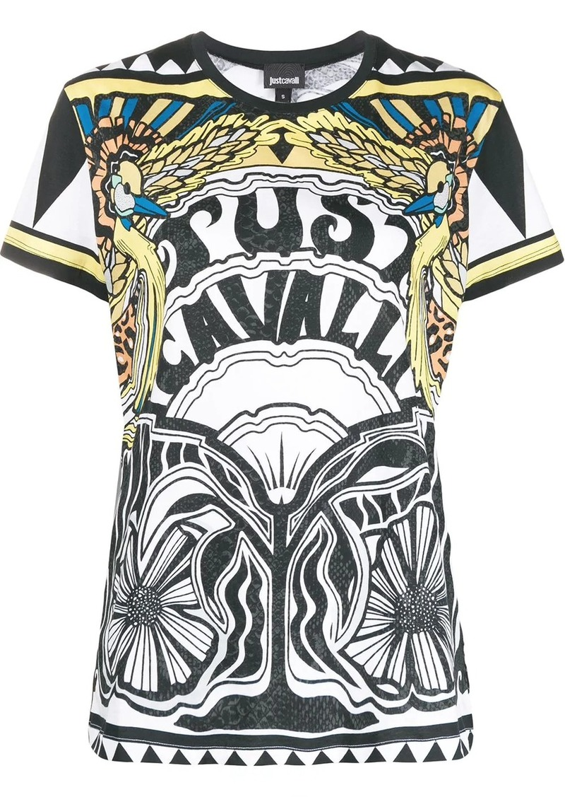 Just Cavalli all-over print T-shirt