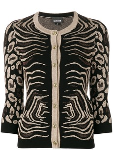 Just Cavalli animal pattern cardigan
