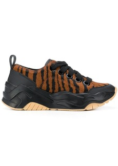 Just Cavalli animal-print lace-up sneakers