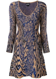 Just Cavalli animal print mini dress