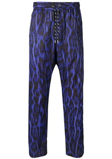 Just Cavalli animal print trousers