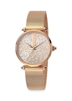 Just Cavalli Animal Stainless Steel Bracelet Watch
