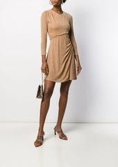Just Cavalli asymmetric waist dress