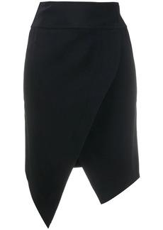 Just Cavalli asymmetric wrap skirt