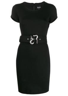 Just Cavalli belted bodycon mini dress