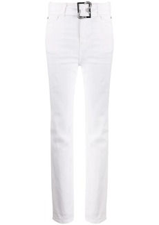 Just Cavalli belted waist trousers