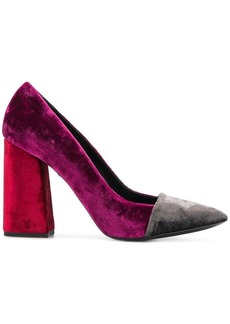 Just Cavalli block heel pumps