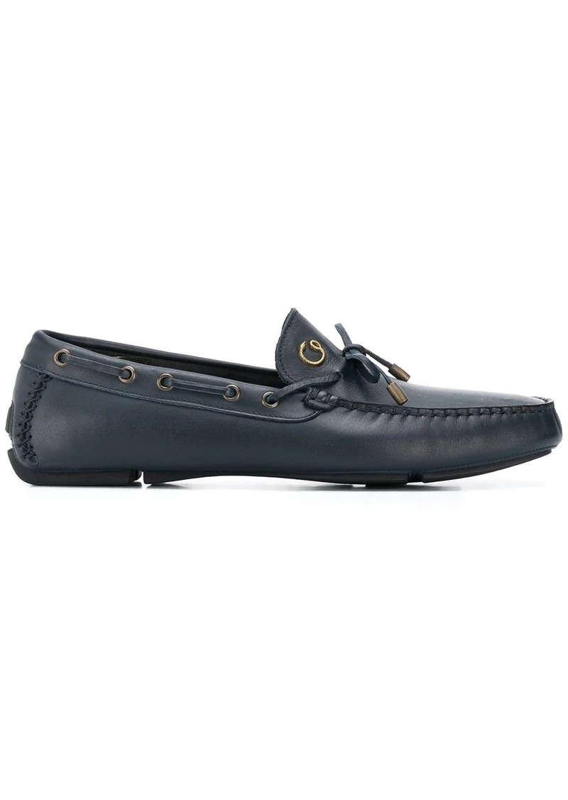 Just Cavalli bow-embellished loafers
