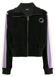 Just Cavalli broach detail hoodie