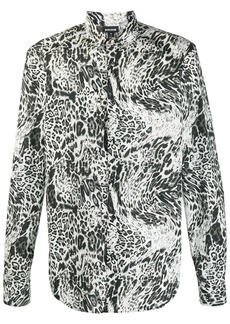 Just Cavalli buttoned leopard print shirt
