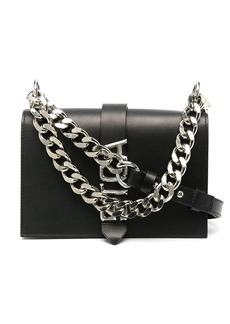 Just Cavalli chain-embellished crossbody bag